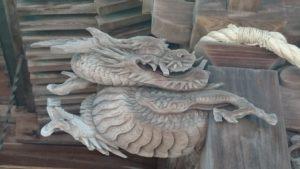 田無神社・龍の彫刻