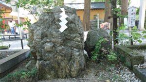 田無神社・親子石