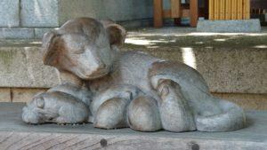 田無神社・子育て犬
