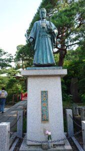 土方歳三銅像