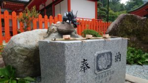 金櫻神社、龍