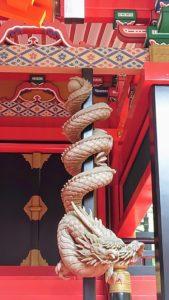 金櫻神社、降龍