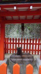 金櫻神社、龍神の井戸