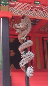 金櫻神社、昇龍