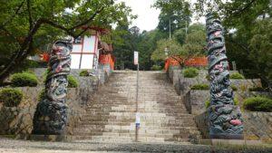金櫻神社、昇龍・降龍