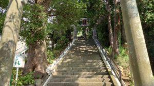 伊豆山神社、参道
