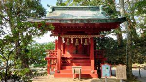 伊豆山神社、電電社